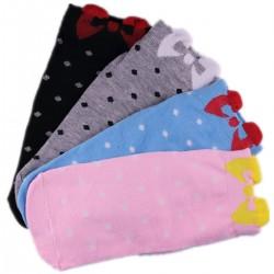Pack de 4 Paires Chaussettes Noeud de Papillon