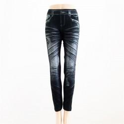 Leggings Style JEANS NOIR