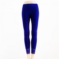 Leggings Opaque BLEU ROYAL
