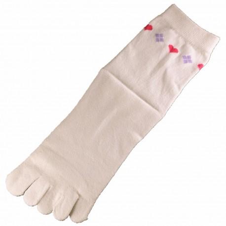 Pack de 2 Paires Chaussettes à doigts