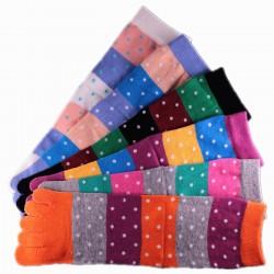 Pack de 2 Paires Chaussettes à doigts Mixte T.U.