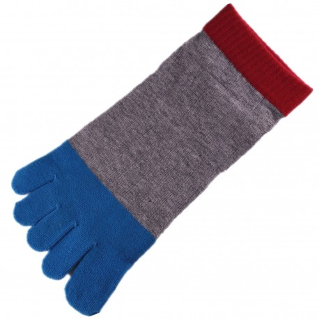 Pack de 2 Paires Socquettes à doigts Mixte
