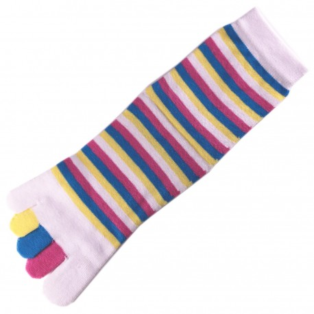 Pack de 2 Paires Chaussettes à doigts Toe Toe Mixte