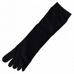 Chaussettes à doigts T.U. Noir Mixte