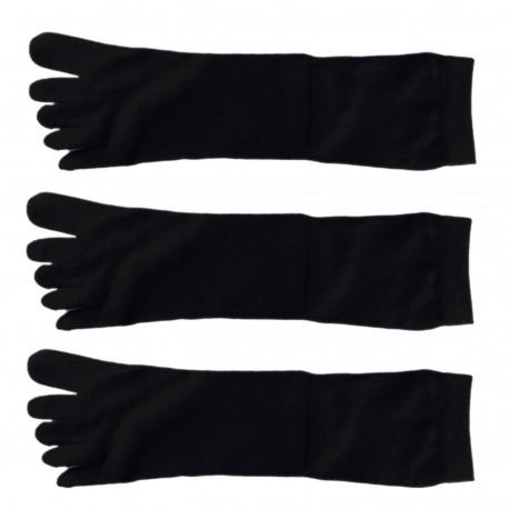 Pack de 3 Paires Chaussettes à doigts Toe Toe Mixte