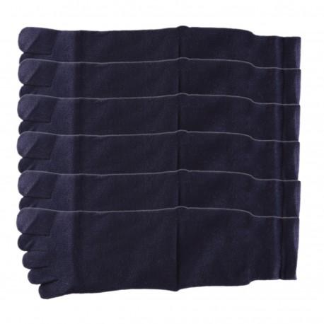 Pack de 6 Paires Chaussettes à doigts Toe Toe Mixte