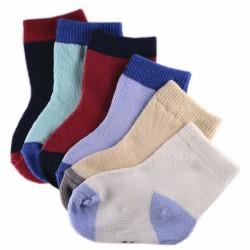 Pack de 6 Paires Chaussettes Bébé