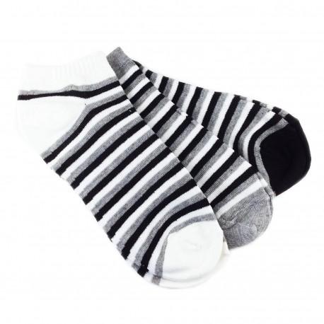 Socquettes SPORT Rayées