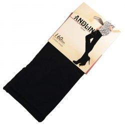 Pack de 6 Collants Opaque Noir 160DEN