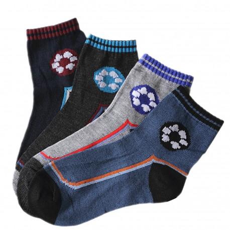 Pack de 4 Paires Chaussettes FOOT