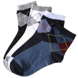 Pack de 4 Paires chaussettes Motif Ecossais