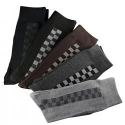 Pack de 6 Paires Chaussettes Assorties Homme Coton