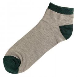 Pack de 3 Paires Socquettes Coton Homme T.U. Vert