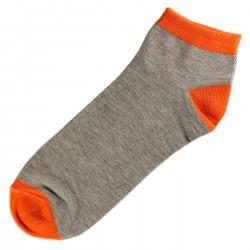 Pack de 3 Paires Socquettes Coton Homme T.U. Orange