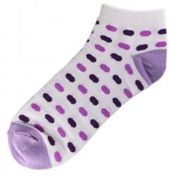Socquettes Coton Ovale Femme T.U. Mauve