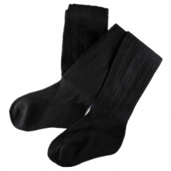 Collant Enfant Coton Noir