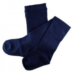 Collant Enfant Coton UNI Bleu Marine