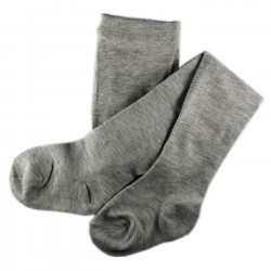 Collant Enfant Coton UNI Gris