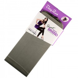 Legging Opaque Coloré 60DEN Gris Color Block