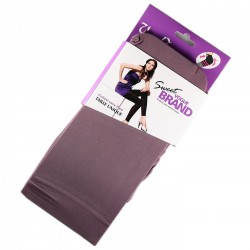 Legging Opaque Coloré 60DEN Mauve Color Block