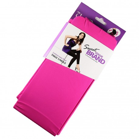 Legging Opaque Coloré 60DEN Fuchsia Color Block