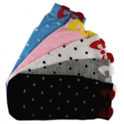 Pack de 5 Paires Chaussettes Noeud de Papillon