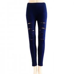 Leggings Style Jeans Déchiré
