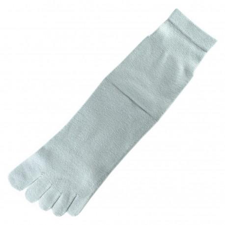 Chaussettes à doigts Gris Mixte