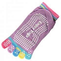 Pack de 2 Paires Socquettes à doigts Enjoy Yoga T.U.