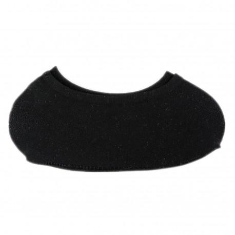 Pack de 3 Paires Socquette Invisible Extensible Noir